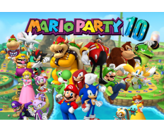NINTENDO WIIU GAME  MARIO PARTY 10