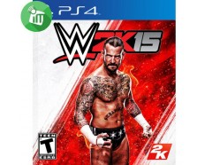 SONY PLAYSTATION GAME WWE2K15