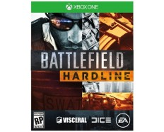 XBOX ONE GAME  BATTLEFIELD HARDLINE DELUXE EDITION